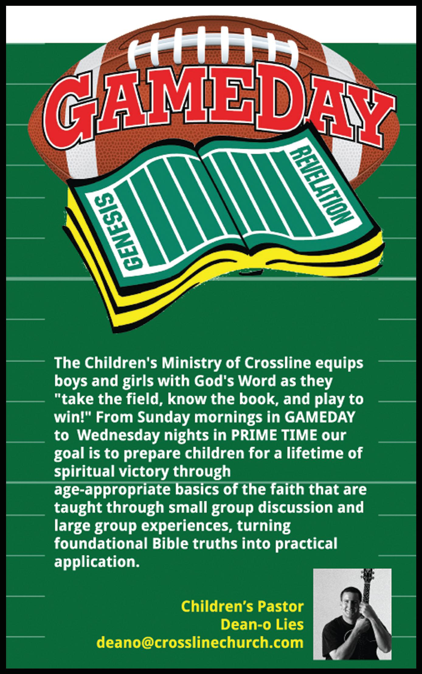 Crossline - Children's Ministry