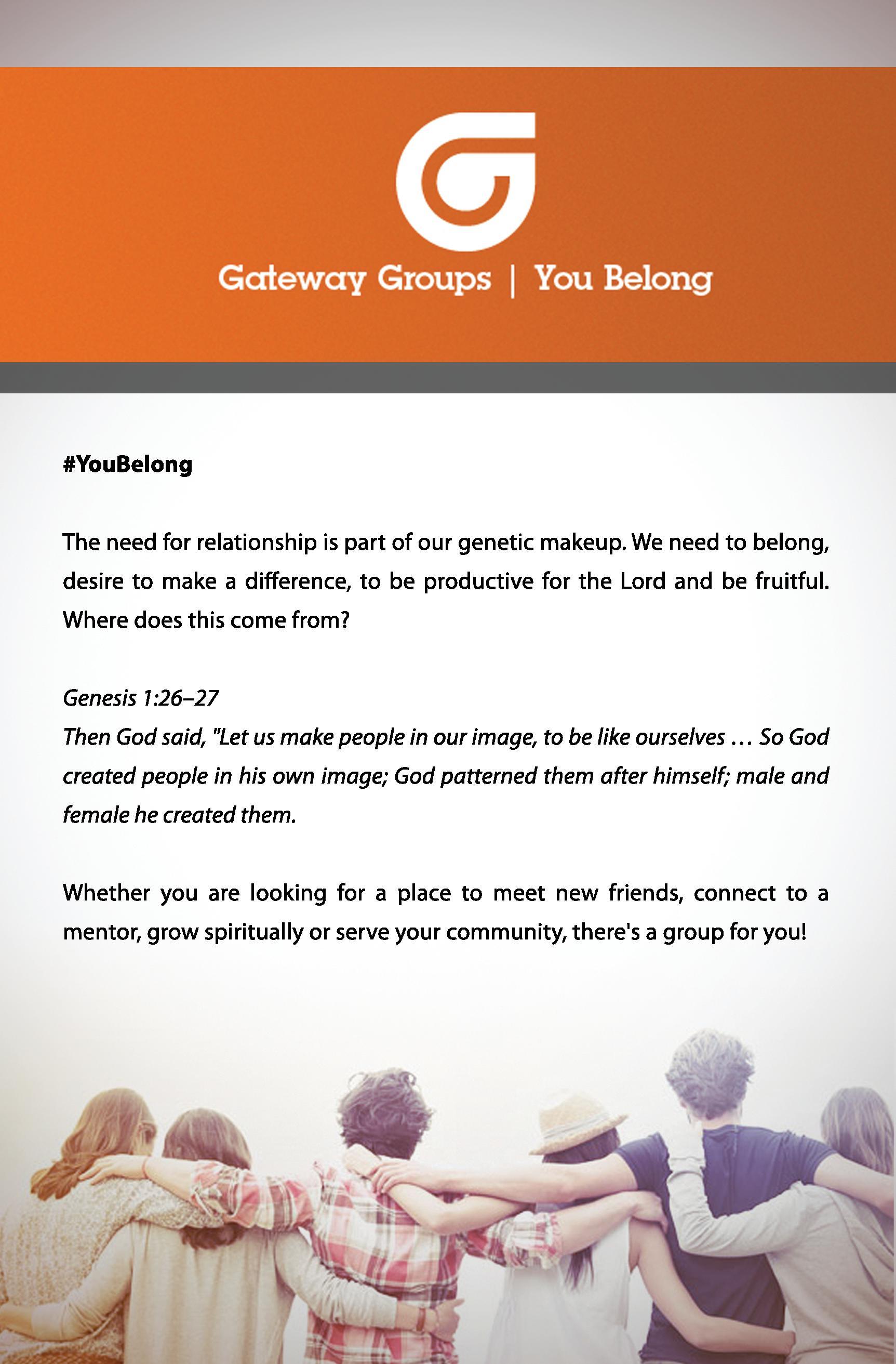 Gateway Groups