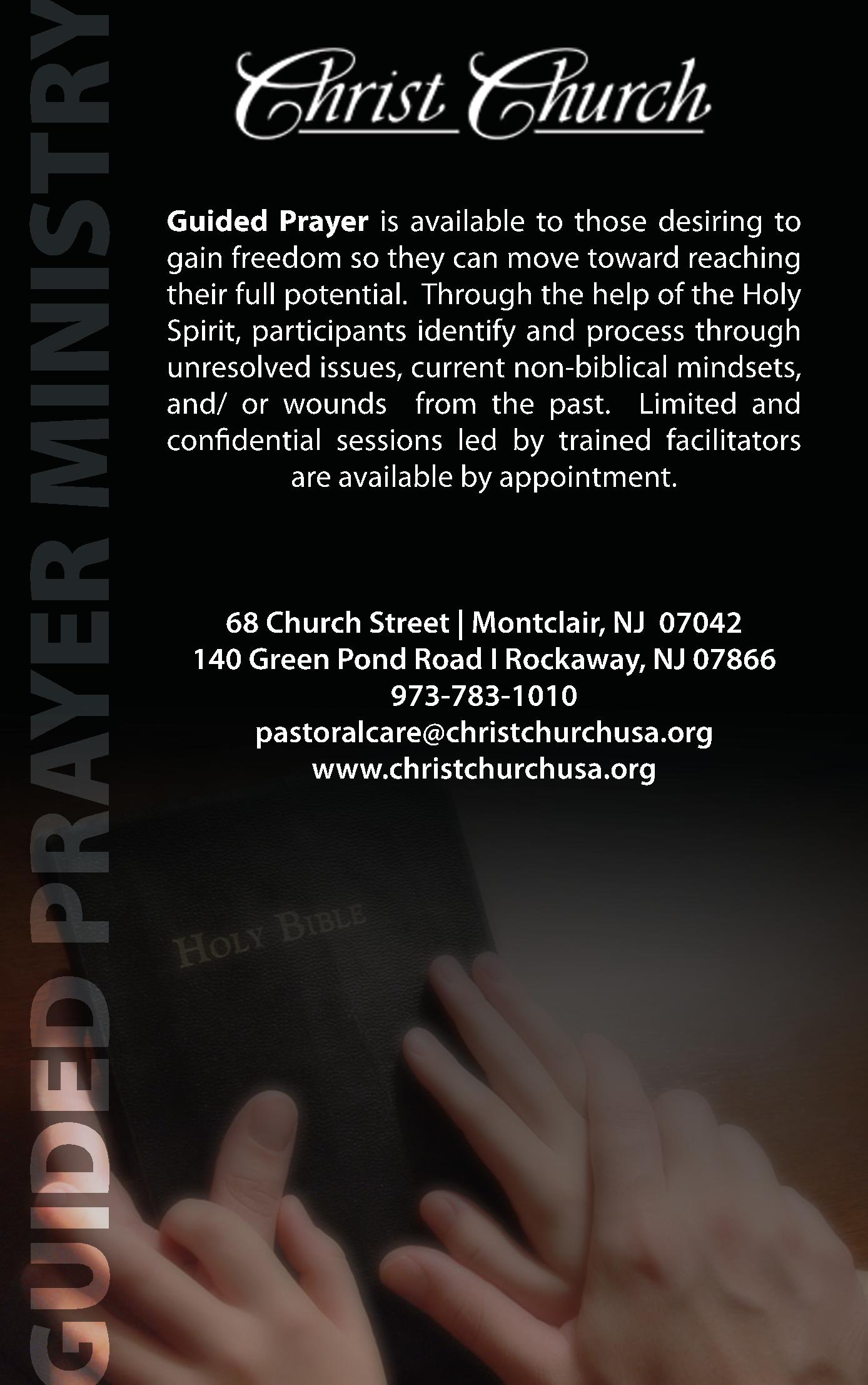 Christ Church Ministry Ad - Guided Prayer