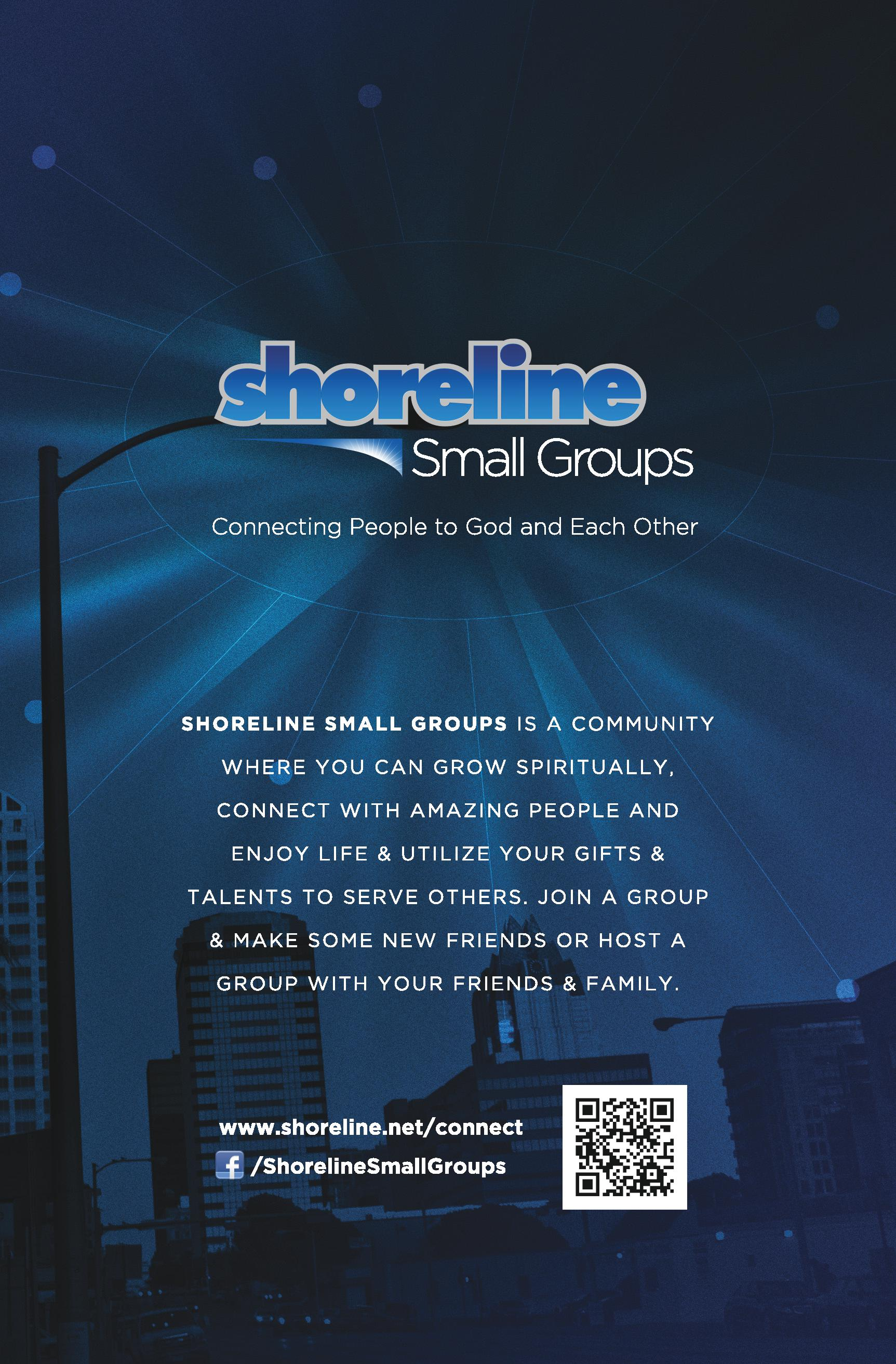 Shoreline Small Groups