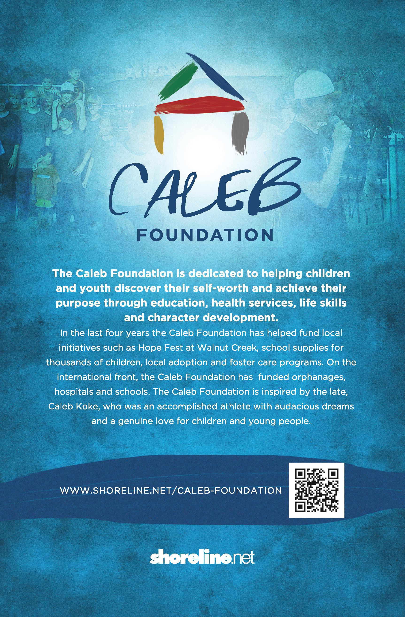 Shoreline Church Ministries - Caleb Foundation