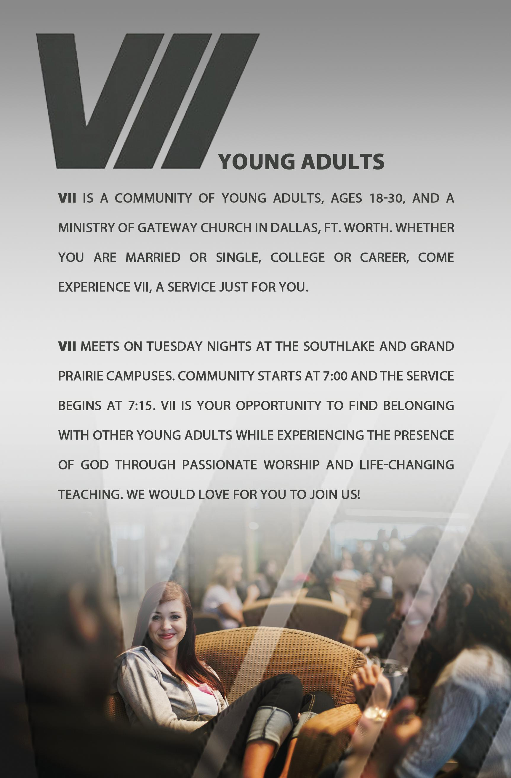 Seven - Young Adults Ministry