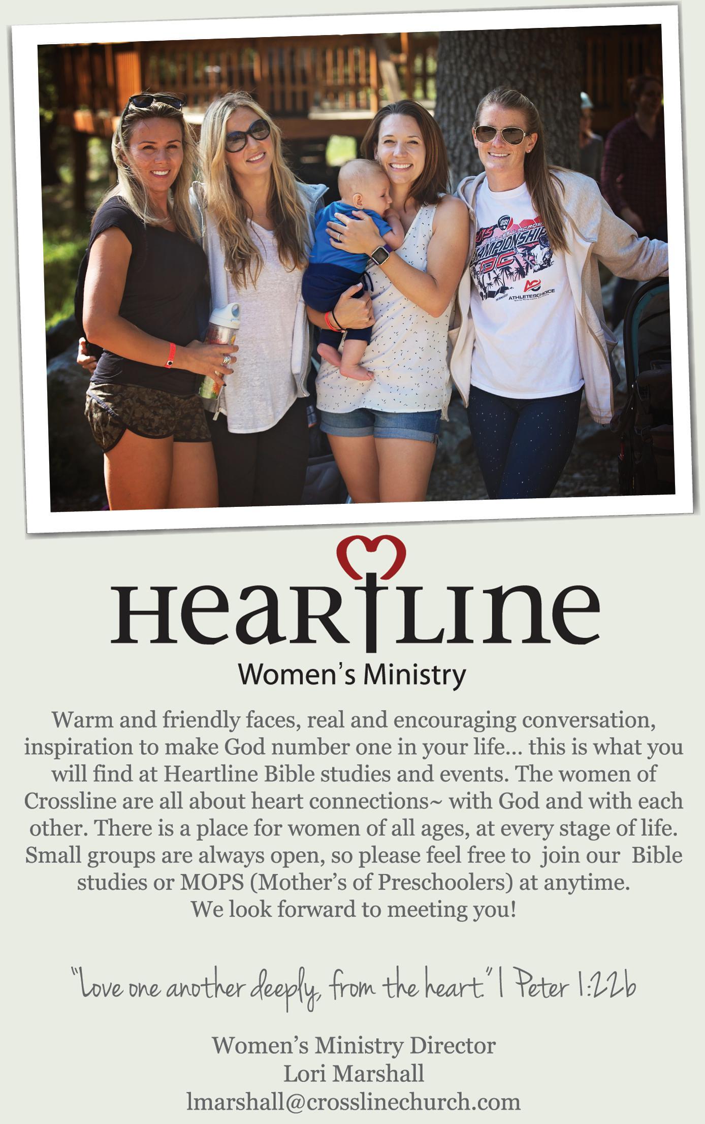 Crossline - Women's Ministry
