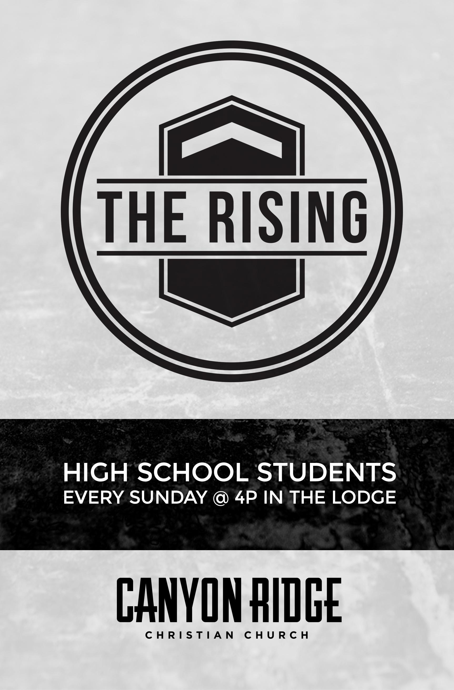 The Rising - High School Ministry