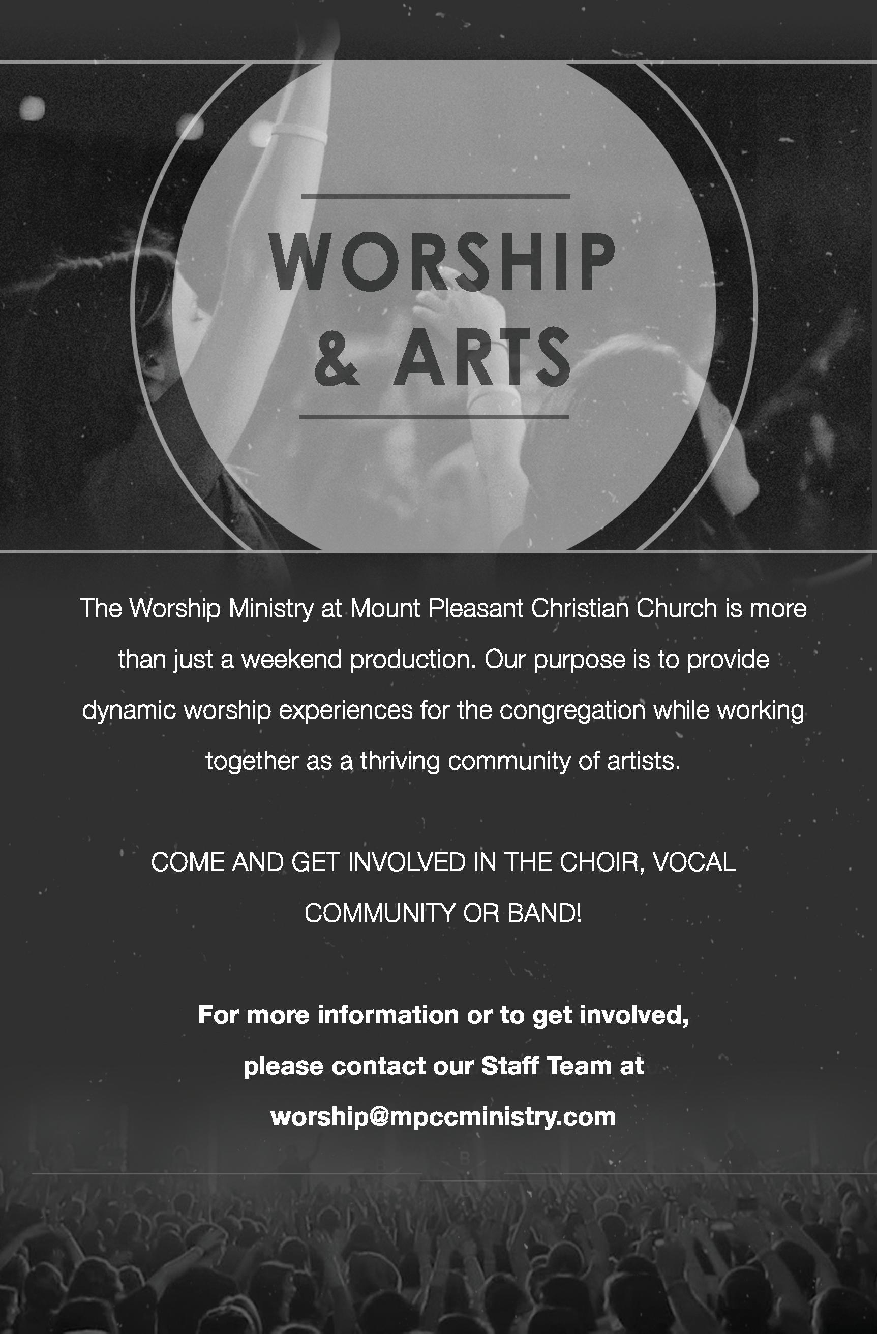 Worship Arts Ministry