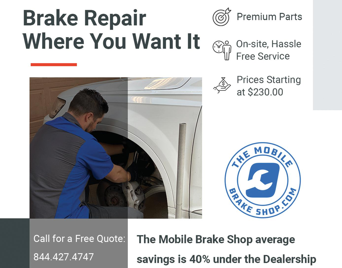 The Mobile Brake Shop