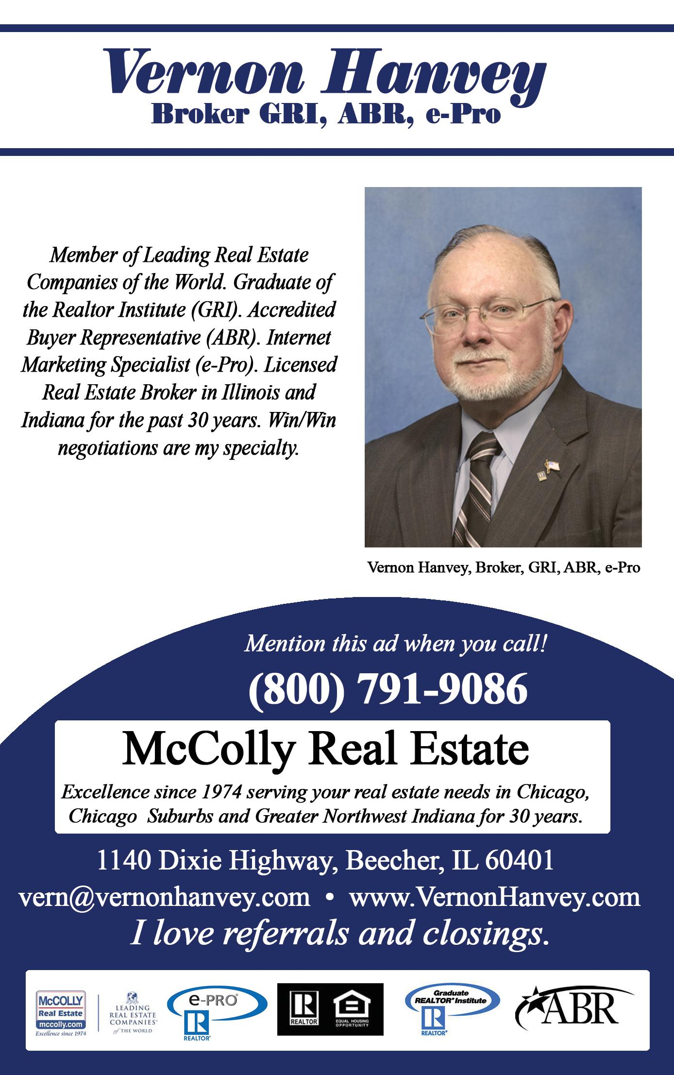 McColly Real Estate - Hanvey