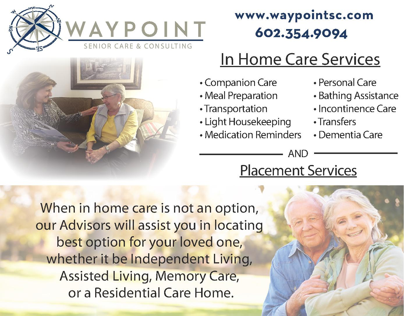 Waypoint Senior Care and Consulting
