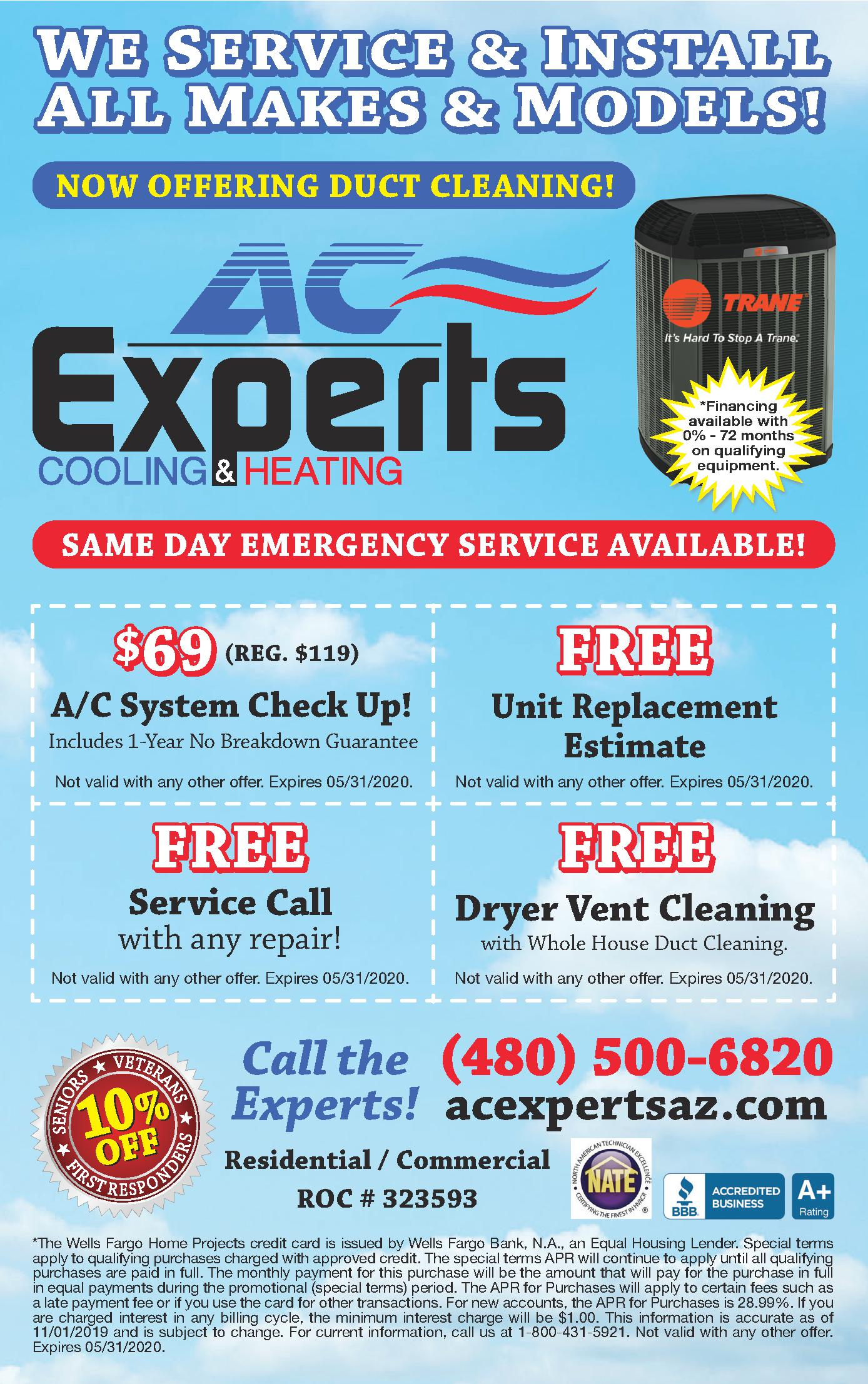 AC Experts Cooling & Heating