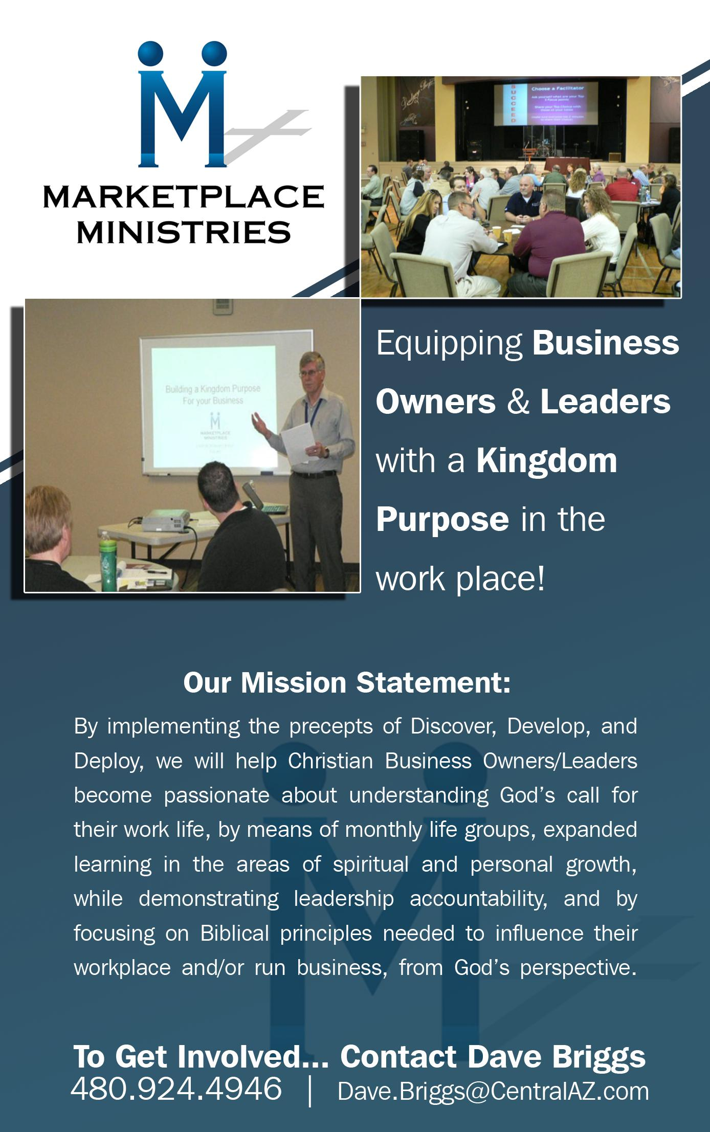 Marketplace Ministries